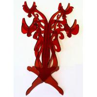 Quality CH (53) Red acrylic candle holder/candelabra wholesale