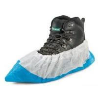 Quality PP+CPE Disposable Shoe Covers Home Depot , Industry Footwear Covers Disposable wholesale