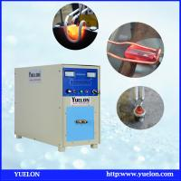 China CE approved 30KW induction heating brazing machine for silver soldering/copper welding on sale