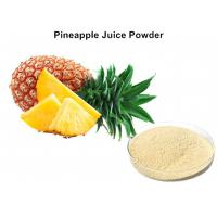 Quality Fresh Pineapple Fruit Juice Powder Beverage Additive Into The Metabolism And Eliminate Fatigue wholesale