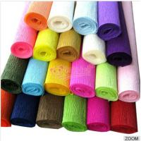 China colorful crepe paper on sale