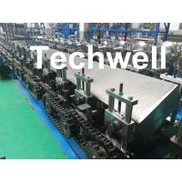Quality Steel Structure Guide Rail Cold Roll Forming Machine for Making Elevator Electrical Wiring Guide Tracks wholesale