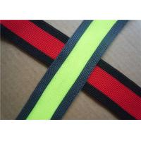 Quality Custom Embroidered Woven Jacquard Ribbon for Bags , Garment , Home Textile wholesale