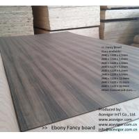 Quality Ebony Fancy Plywood 1220 x 2440mm wholesale