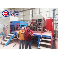 China Paper Pulp Moulding 6layers 129kw Egg Tray Dryer on sale