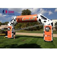 Quality Durable Wide Inflatable Race Arch Car Logo Inflatable Run Through Tunnels wholesale
