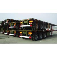 China Electrical System 60 Ton Semi Trailer Trucks With 2 Legs And 12 Tires on sale