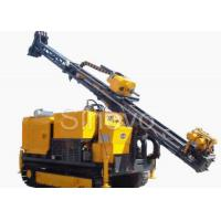 Quality Hydraulic Crawl Diamond Core Drilling Machine , Drilling angle 60° - 90° wholesale