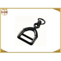 Quality Zinc Alloy Metal Shoe Buckles Clips With D Ring Custom Black Color wholesale