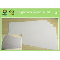 Quality Mixed Pulp Duplex Paper Board White Back For Printing Bag Anti Curl wholesale