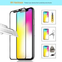 IPhone X Tempered Glass Screen Protector , Anti Scratch Glass 2.5 D Screen Protector