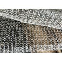 Quality Blanket Mesh / Foil Stainless Steel Knitted Fume Filter Demister Mesh Long Lifespan wholesale