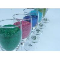 China PET Chrismas Decoration Screen Printing Glitter Powder / Cosmetic Chunky Glitter Powder on sale