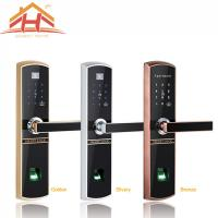 Quality Bluetooth Fingerprint Door Lock Remote Control with IC Card Function wholesale