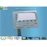 Quality Food Grade Conductive Rubber Keypad Combined With PC Overlay Membrane Switch wholesale