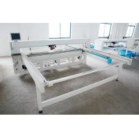 Quality 4500 * 3400 * 1400mm Mattress Quilting Machine , 2200 Needle / Min Quilting Sewing Machines wholesale