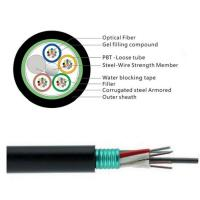 Quality GYTS 32 Cores Fiber Cable/Aerial fiber optic cable installation is a complicated and time-consuming work. wholesale
