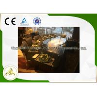 Quality Restaurant Indoor Teppanyaki Grill Gas 10 Seat Capacity For Beef Mutton Chicken wholesale