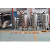 China SUS304 Mineral Water Purification Machine For Water Bottle Filling Line on sale