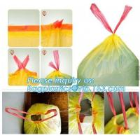 Quality indoor/outdoor waste bags Rubbish Black Bag Trash Can Liners for Kitchen Home Bathroom Bedroom Toilet Office Rubbish Bin wholesale