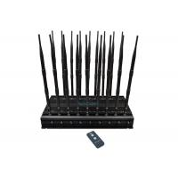 Quality 18 Channels Mobile Phone Signal Jammer Block All GPS Signals 42W High Power wholesale