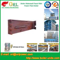 Quality Gas Steam Industrial Power 300MW Station Boiler Water Walls for Condensing Boiler wholesale