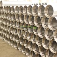 Quality Continuous slot sand control johnson screens casing pipe for oil and water well drilling wholesale