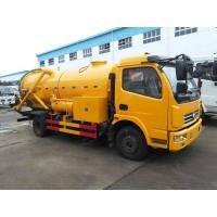 China Vacuum Suction sewage pump truck , 10000L sewage suction tanker truck on sale