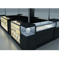 Cheap Elegant Appearance Jewelry Showcase Kiosk With Fully - Enclosed Structure for sale