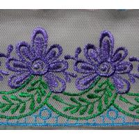 Quality Fashion machine embroidery lace wholesale