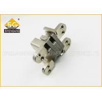 Quality Invisible Zinc Alloy Internal Door Hinges Soss Concealed , Full Inset Hinges wholesale