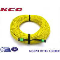 Quality MTP APC MPO MTP Patch Cord Jumper Cable 1260~1650nm Wave Length Apply For CATV wholesale