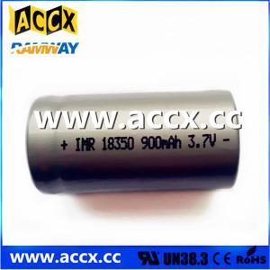 Quality ICR18350 900mAh 3.7V wholesale