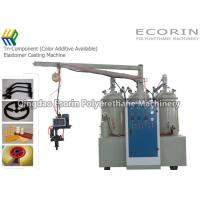 China Tri - Component Polyurethane Elastomer Foaming Machines Color Additive Available on sale