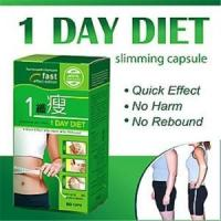 Quality 1 Day Diet Natural Slimming Capsule Quick Effect 60pcs Per Bottle Or Box wholesale