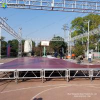 China Manufacturer Free Design Indoor Aluminum Portable Stage,Used Cheap Portable Outdoor Stage Platform Sale on sale
