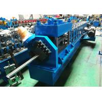 """Quality 2"""" 3"""" Garage Door Guide Rail Roll Former PLC Controlled With Bending Machine wholesale"""