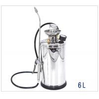 Quality High Pressure Stainless Knapsack Sprayer With Adjustable Brass Nozzle 6L wholesale