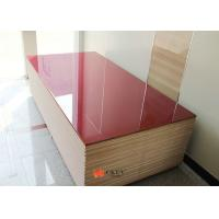 Quality Red Painted Sparkling Silver 20mm / 25mm MDF Particle Board For Interior Decoration ​ ​ wholesale