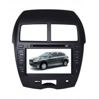 Quality Mitsubishi Asx 2011 Car Gps Navigation System Real Time Clock Function wholesale
