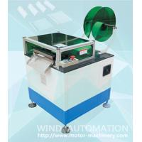 Quality Slot cell folding machine Electric motor Stator Slot cell insulation forming Nomex cuffing creasing and cutting wholesale
