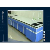 Buy cheap MDF Tops Chemistry Science Lab Tables , Electronic Steel  Lab Computer Desk product