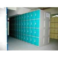 Quality 10 Tier Beige Keylesscoin Operated Lockers , Mobile Phone Lockers For Factory wholesale