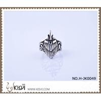 Quality High Quality Guarantee 316l Stainless Steel Ring in a Poly Bag H-JK0049 wholesale
