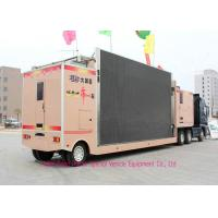 China Professional LED Billboard Truck With Lifting System For Outdoor Advertising on sale