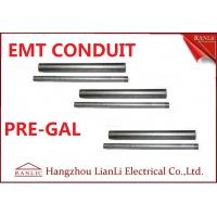 "Quality Professional 1/2"" 3/4"" EMT Electrical Conduit with 1.07mm-1.65mm Thickness wholesale"