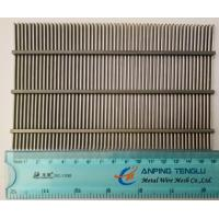Quality AISI304 & AISI316 Wedge Wire Screen Flat Panels, 0.05-10mm Slot Width wholesale