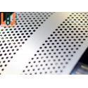 Powder Coating Micro Hexagonal Perforated Metal Sheet Width 0.5-3meters for sale