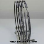 Quality Truck Engine Oil Piston Ring Set Fit for Hino EK100 OEM , 13011-1010 137MM wholesale