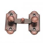 Quality Antique copper Door Security Bolts sliding door latch Classic Furniture Hardware wholesale